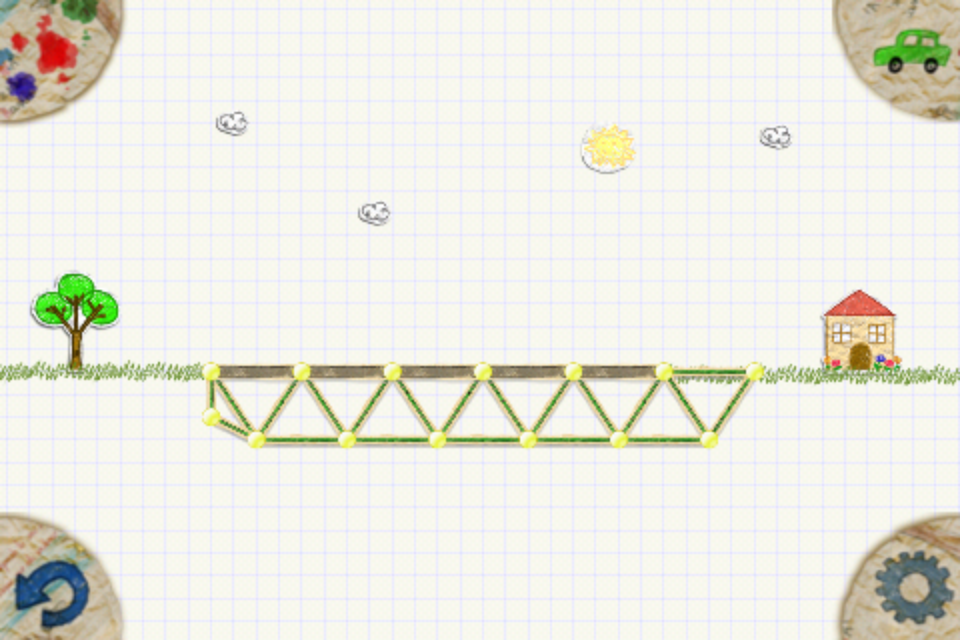 paper bridge app help Paper bridge takes the concept of bridge building, made incredibly popular with world of goo, and couples that concept with the sketch movement running crazy through the idevice gaming world this marriage works incredibly well, and with a few adjustments paper bridge stands to be a top notch game.