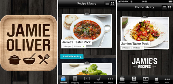 Five best cooking apps cool apps man jamies recipes app forumfinder Image collections
