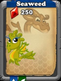 dragonvale seaweed dragon