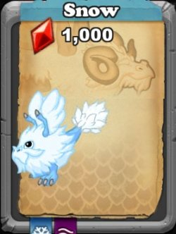 dragonvale snow dragon