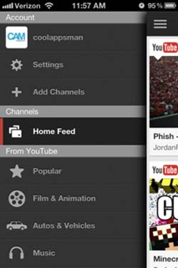 New YouTube App