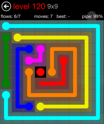 Flow Free 8x8 Mania Board Walkthrough Cheats And Solutions
