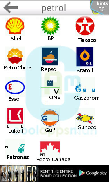 Logo Quiz Ultimate level 7 petrol