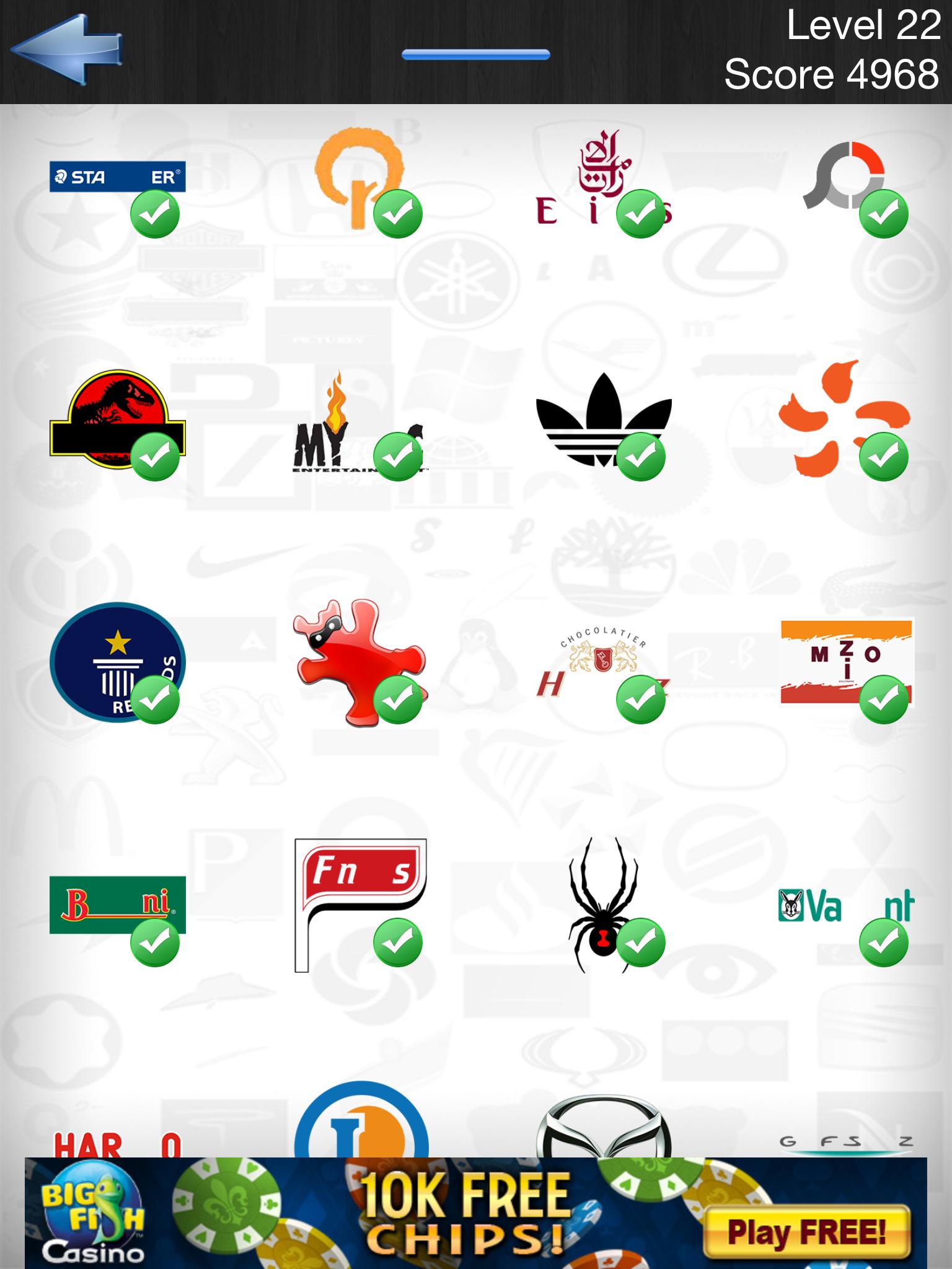 Ultimate Logo Quiz Answers Level 2