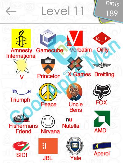 logo quiz answers level 11