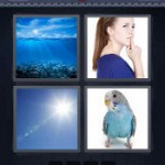 4 Pics 1 Word Answers Blue