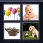 4 Pics 1 Word Answers Sweet