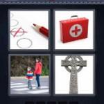 4 Pics 1 Word Answers Cross