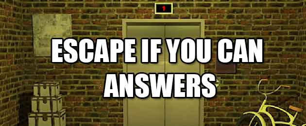 Escape Room App Answers