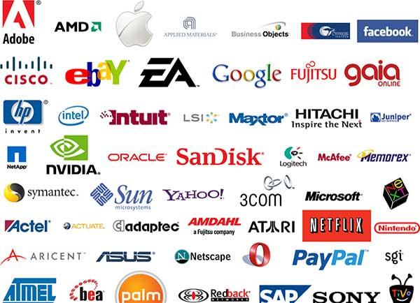 top 100 games companies logos