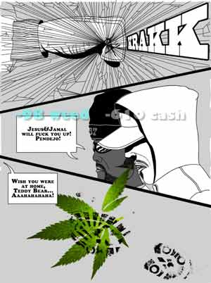 how to pay off the gangsters in weed firm